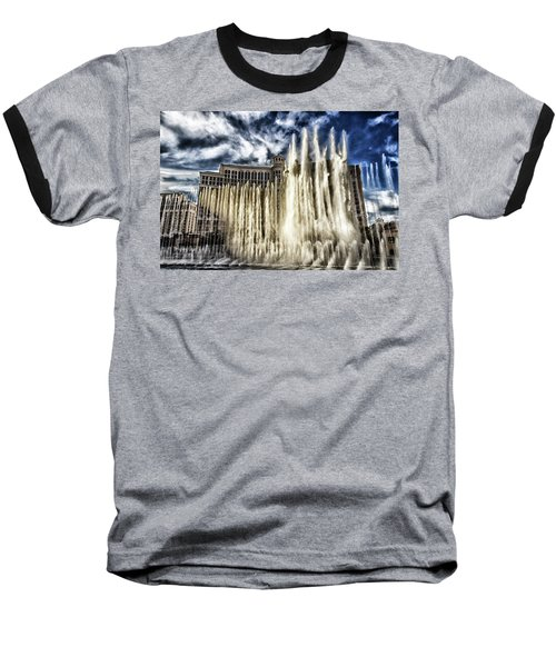 Fountain Of Love Baseball T-Shirt by Michael Rogers