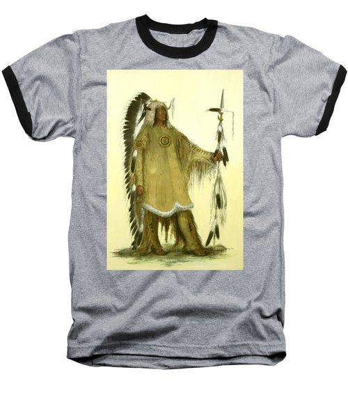 Four Bears Mandan Chief 1833 Baseball T-Shirt