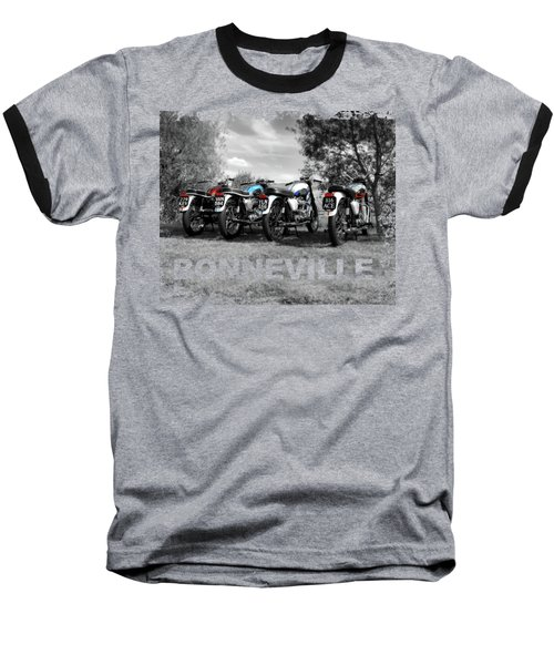 Four Bonnevilles Baseball T-Shirt