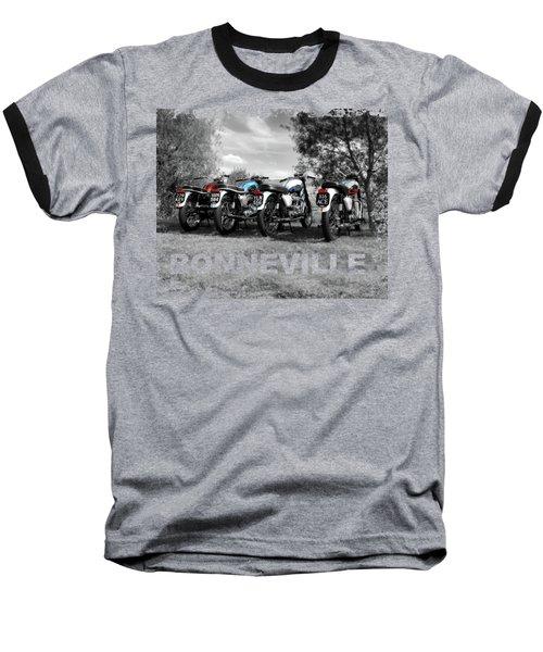 Four Bonnevilles Baseball T-Shirt