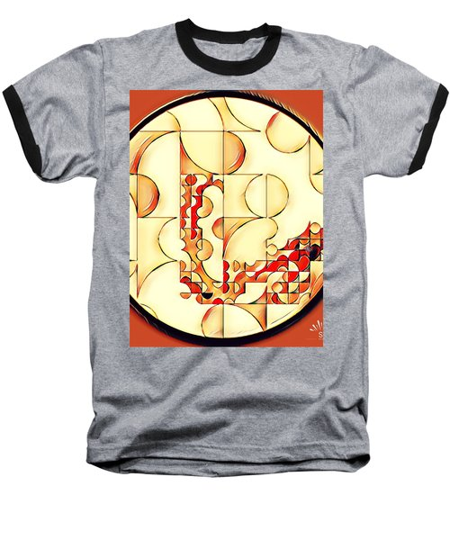 Four Circle Turn Baseball T-Shirt