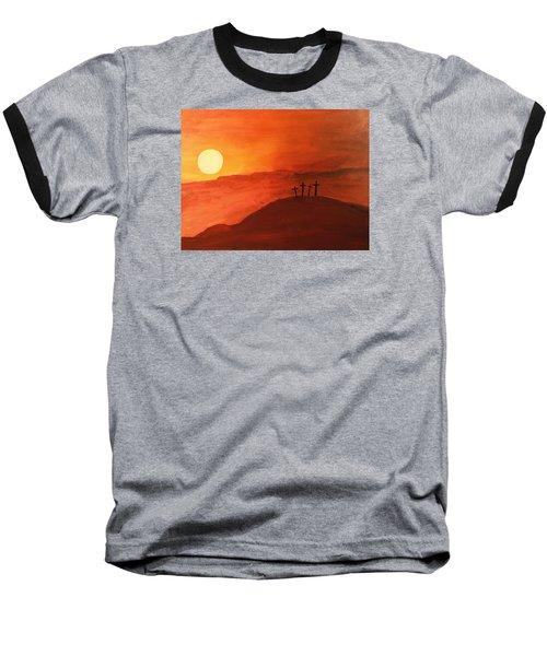Four Crosses Baseball T-Shirt