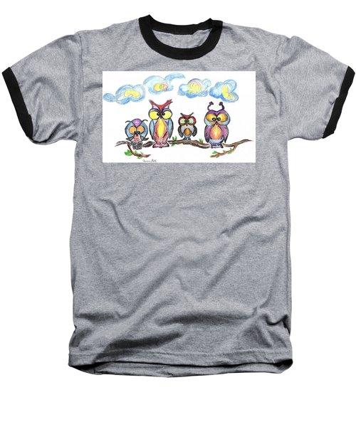 Four Friends  Baseball T-Shirt