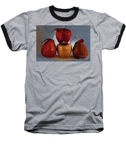 Four Fruits Baseball T-Shirt
