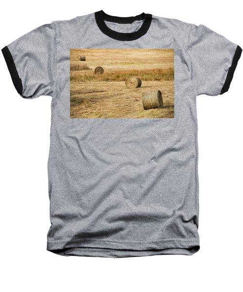 Four Hay Balls -  Baseball T-Shirt