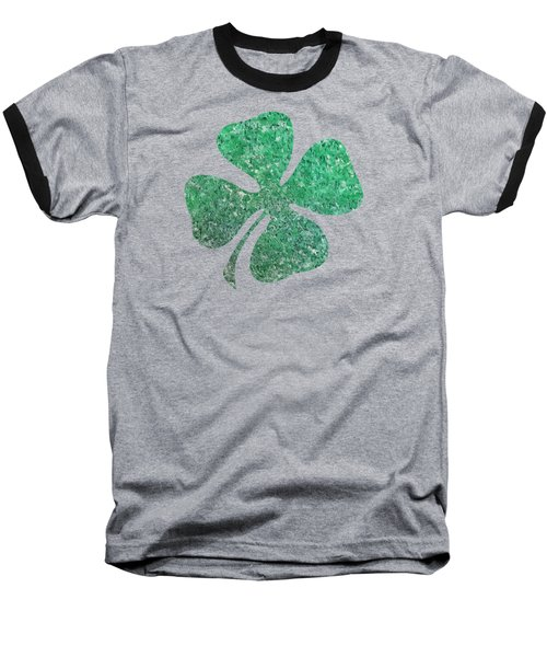 Four Leaf Clover Baseball T-Shirt