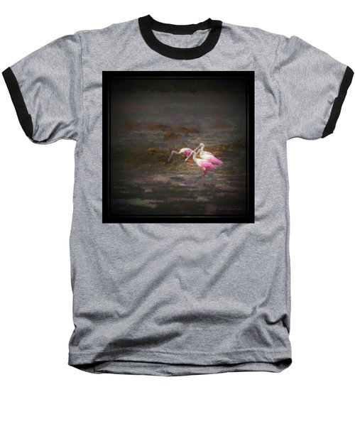 Four Spoons On The Marsh Baseball T-Shirt