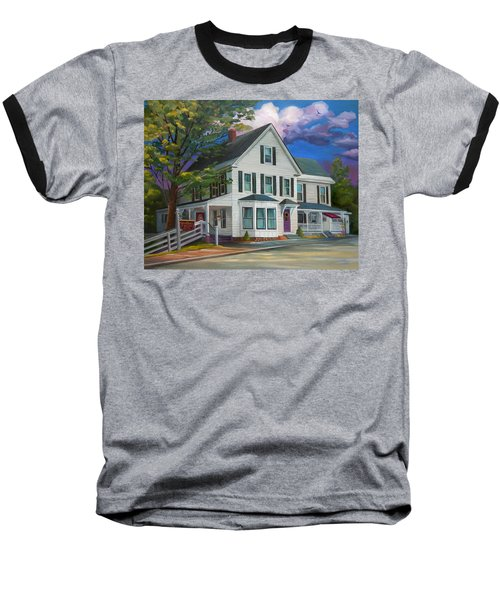 Fournier Funeral Home Baseball T-Shirt by Nancy Griswold