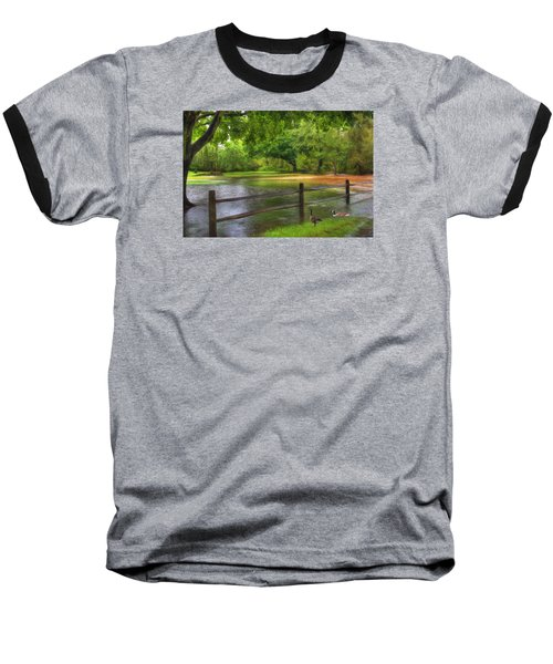 Fourth Street Flood Baseball T-Shirt