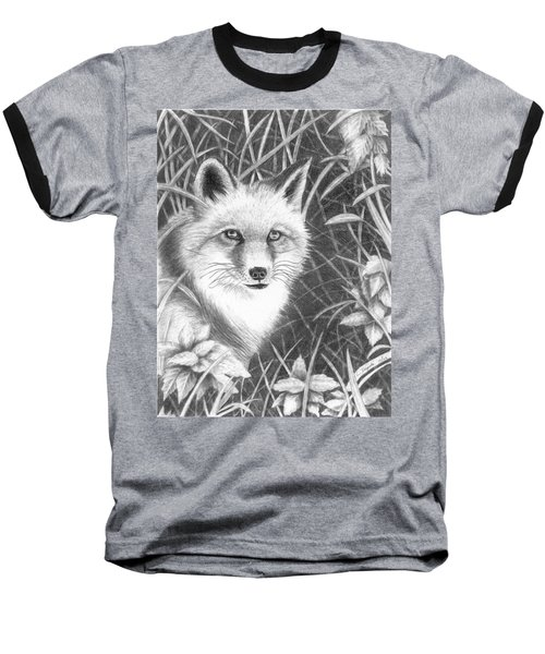 Fox Baseball T-Shirt by Lawrence Tripoli