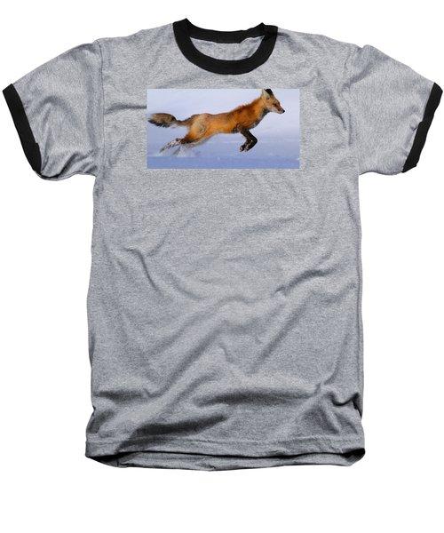 Fox On The Run Baseball T-Shirt