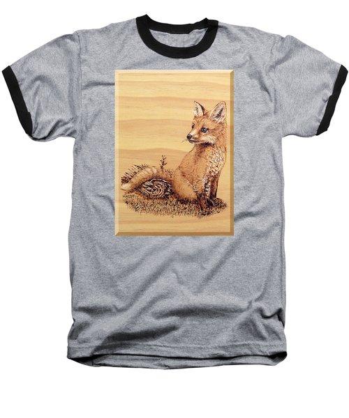 Fox Pup Baseball T-Shirt