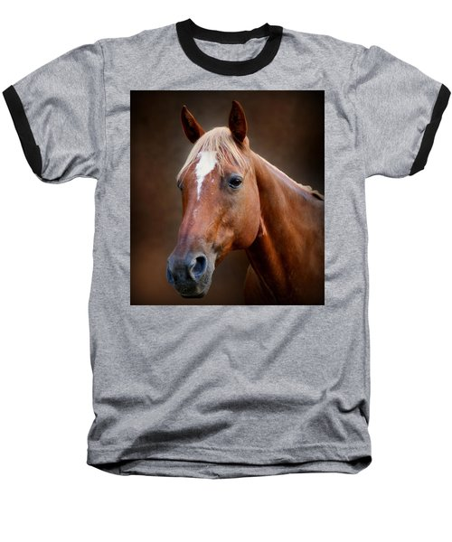 Fox - Quarter Horse Baseball T-Shirt