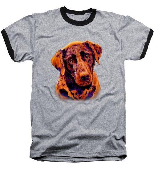 Fox Red Labrador Painting II Baseball T-Shirt