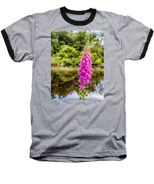 Foxglove In Flower Baseball T-Shirt