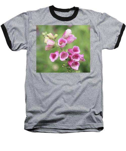 Foxgloves  Baseball T-Shirt