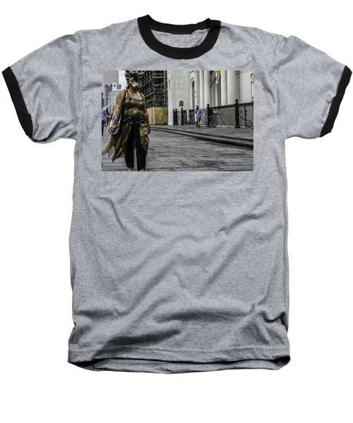 Foxy Lady, New Orleans, Louisiana Baseball T-Shirt