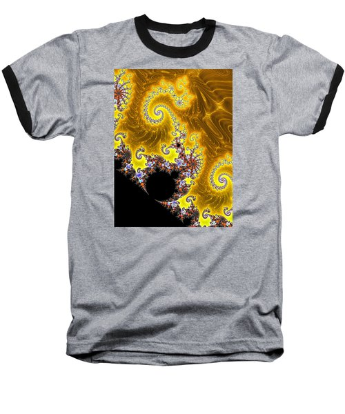 Baseball T-Shirt featuring the photograph Fractal Coastline by Ronda Broatch