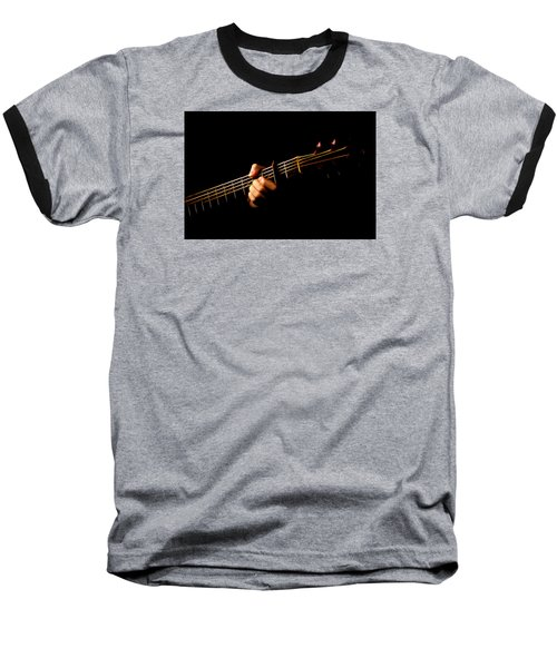Baseball T-Shirt featuring the photograph Fractal Frets by Cameron Wood