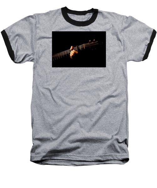 Fractal Frets Baseball T-Shirt