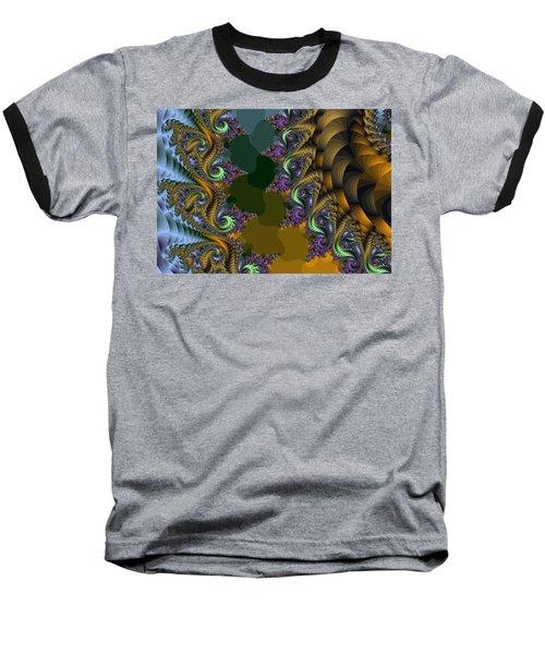 Fractals83002 Baseball T-Shirt
