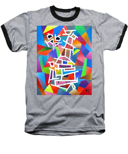 Fractured Instrument Of Love Baseball T-Shirt by Jeremy Aiyadurai