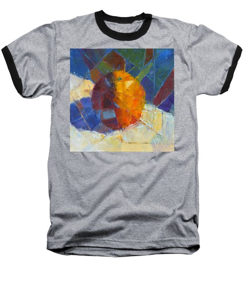 Fractured Orange Baseball T-Shirt