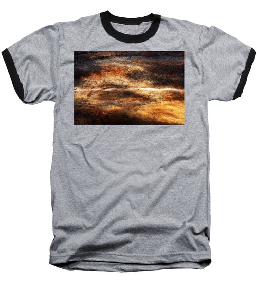 Baseball T-Shirt featuring the photograph Fractured by Ryan Manuel