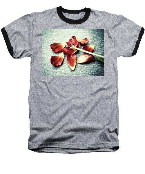 Fragile Baseball T-Shirt by Karen Stahlros