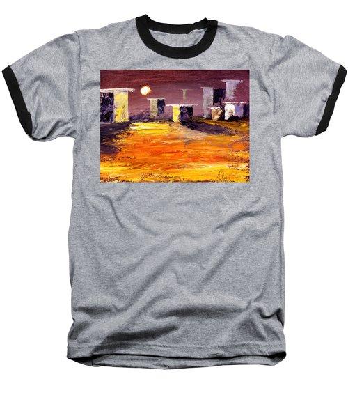 Fragile Structures Baseball T-Shirt