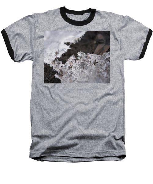 Fragmented Ice Baseball T-Shirt