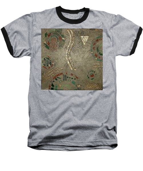 Fragments From Atlantis Baseball T-Shirt by Bernard Goodman