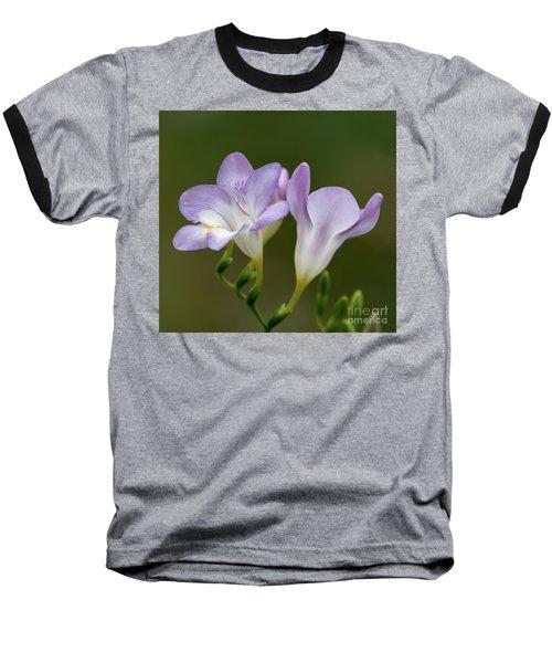 Fragrant Freesias 2 Baseball T-Shirt