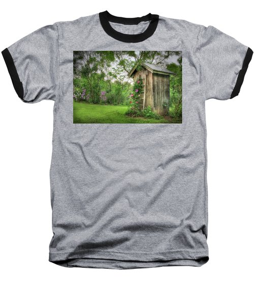 Fragrant Outhouse Baseball T-Shirt