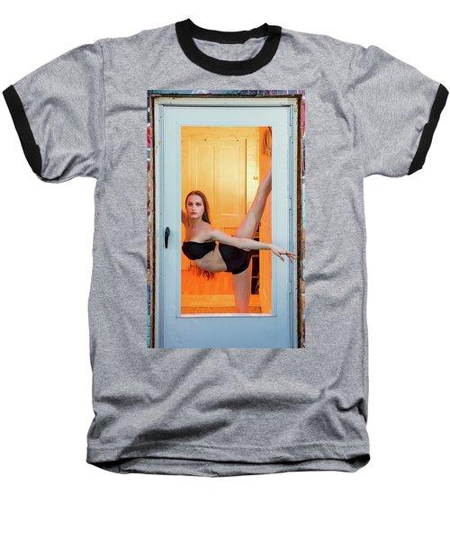 Framed- Stretch Baseball T-Shirt
