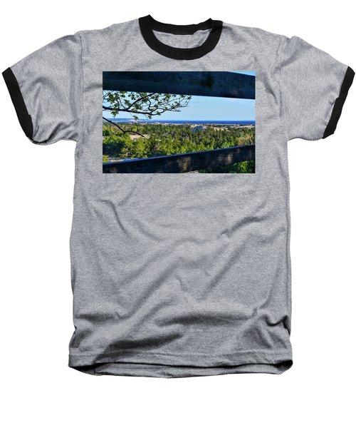 Framed View Baseball T-Shirt