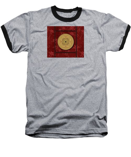 Framed Zenfly Bi Coin Baseball T-Shirt