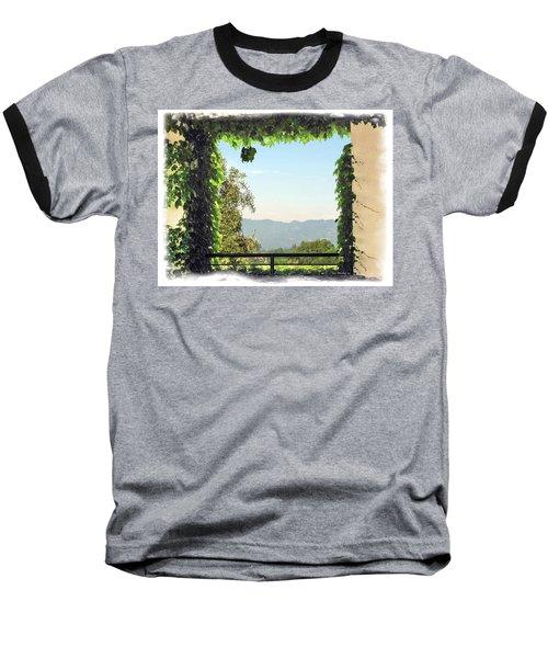 Baseball T-Shirt featuring the photograph Framing Napa Valley by Joan  Minchak
