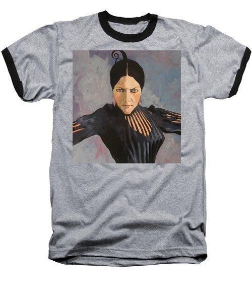 Francesca Baseball T-Shirt by Ray Agius