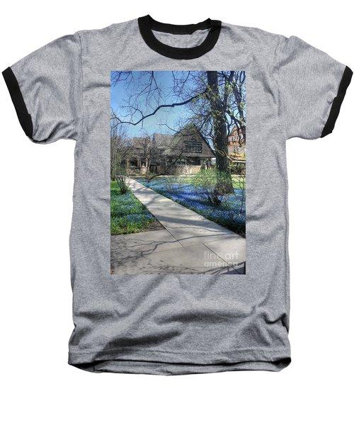 Frank Lloyd Wright Studio Baseball T-Shirt