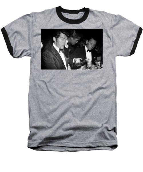 Frank Sinatra Drank American Whiskey His Way Baseball T-Shirt