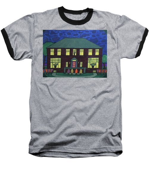 Frank Spies Home. Historical Menominee Art. Baseball T-Shirt