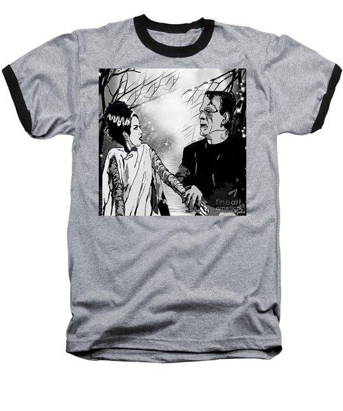 Frankenstein Baseball T-Shirt