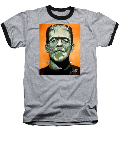 Frankenstein Baseball T-Shirt