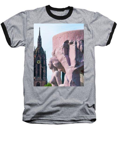 Frankfurt 10 Baseball T-Shirt by Steven Richman