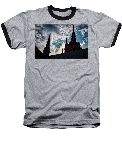 Frankfurt Cathedral Baseball T-Shirt