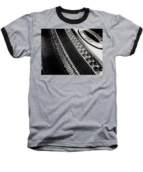 Franklin Piano Baseball T-Shirt
