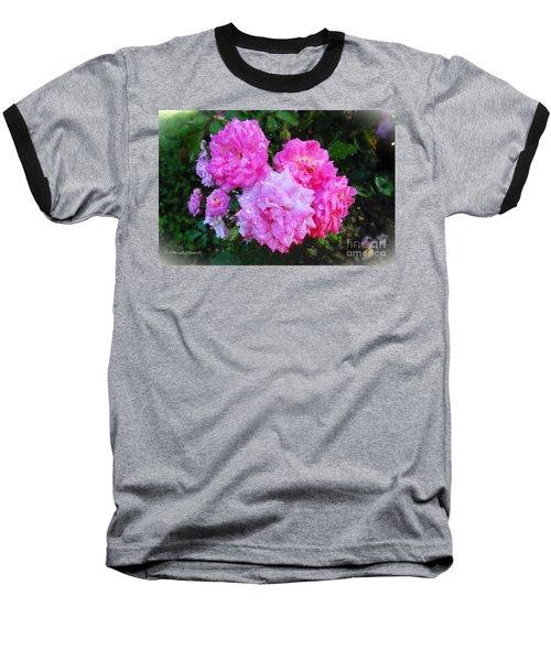 Frank's Roses Baseball T-Shirt