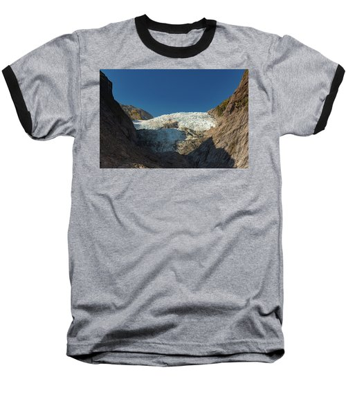 Baseball T-Shirt featuring the photograph Franz Josef Glacier by Gary Eason