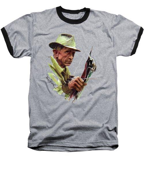 Fred Bear Archery Hunting Bow Arrow Sport Target Baseball T-Shirt